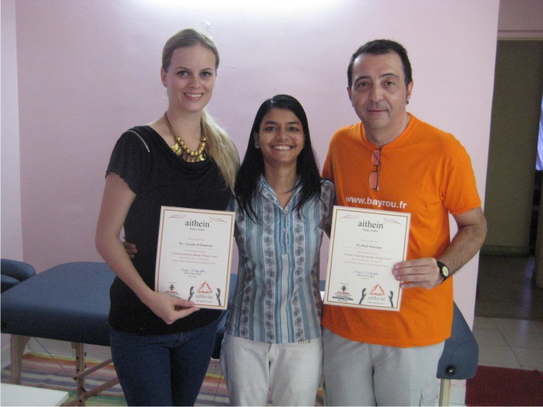 2-Weeks Ayurveda Massage Course in Pune, India