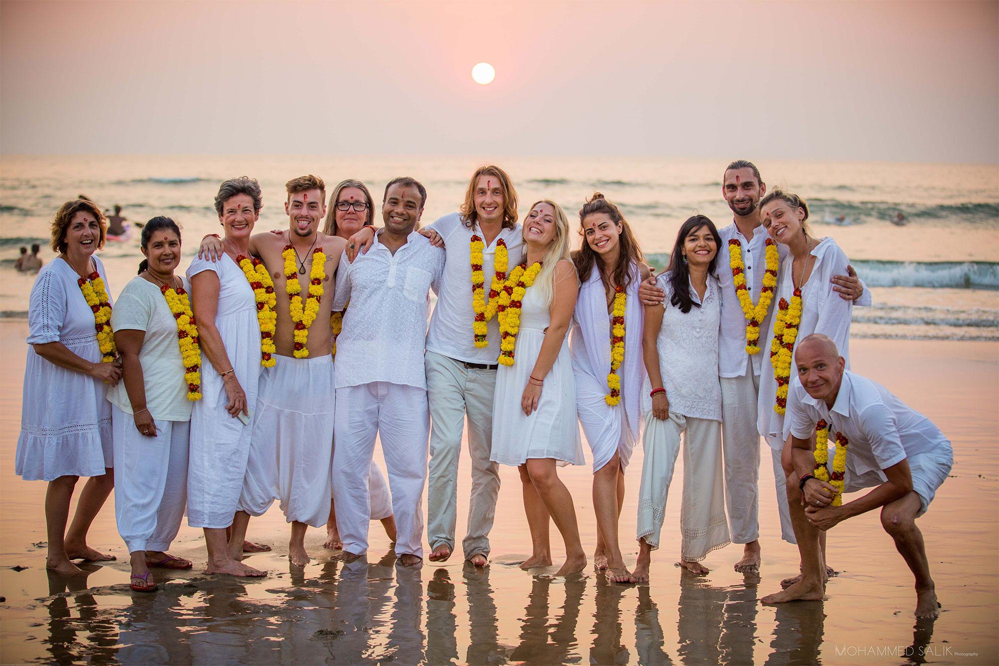 Aithein Ayurveda Massage School in Goa, India - Graduation Day